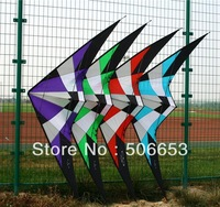 1.8m high quality stunt kite with handle and line4 colors flying kite free shipping