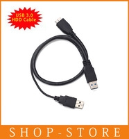 Free Shipping USB3 0 A Male to Micro USB 3 Y Cable for Mobile HDD