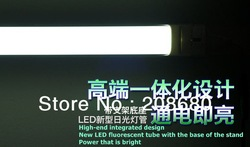 Freeshipping One PC New tube t5 Led tube 572mm 7W 550lm 81 leds smd3528 led tube t5 lamp high power floscent light AAA(China (Mainland))