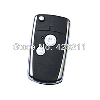 Flip Folding Remote Key Shell Case For Honda Accord Pilot CR-V Civic 2BT  FT0102