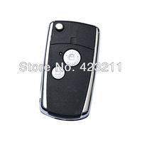 Flip Folding Remote Key Shell Case For Honda Accord Pilot CR-V Civic 2BT  FT0102