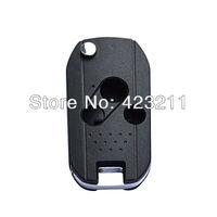 Flip Folding Remote Key Shell Case For Honda Accord Civic CR-V Pilot 3BT  FT0101