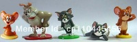 GIFT Lovely Tom and Jerry 5PCS Figure Collection Set Lot DECORATION