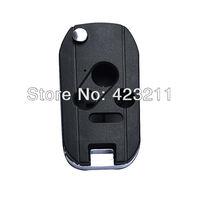 Flip Folding Remote Key Shell Case For Honda Accord Civic Pilot 3BT+ Panic  FT0064