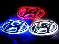 hyundai  emblem 3d three-dimensional emblem car lights modified car lights
