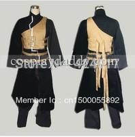 NARUTO Gaara Shippuden Anime Cosplay Costume black dress Gaara Shippuden Anime Cosplay Costume black dress