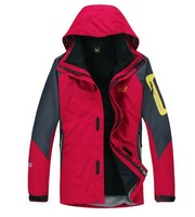 6 -color outdoor sports jackets fashion men hiking mountaineering jacket super warm ski clothes