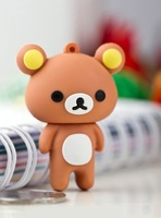 M-63 Wholesale Hot Cartoon Couple teddy bear 4GB 8GB 16GB 32GB 64GB USB 2.0 Flash Memory Stick Drive Thum/Car/Pen Free Ship Gift