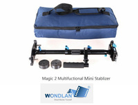 "FREE SHIPPING Wondlan stabilizer ""Magic 2"" multifunctional aluminum MINI Handheld Stabilizer Steadicam for DSLR"