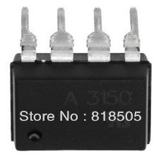 10pcs HCPL-3150 A3150  AVAGO DIP-8 IC Isolators electronic components Free shipping 497-2165-5