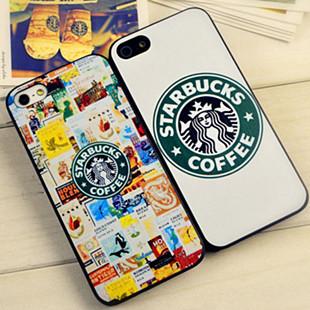 1 piece free shipping Star wars coffee phone case for iphone 5 5G Starbucks Coffee Cover Case for apple 5 5S(China (Mainland))