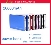 20000mAh Universal Backup USB Battery Power Bank External Battery Pack Charger With Retail Package