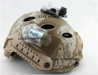 2014 tactical MANTA STROBE stroboscopic +IR snail light helmet lights mate recognition of red light green light-FREE SHIPPING