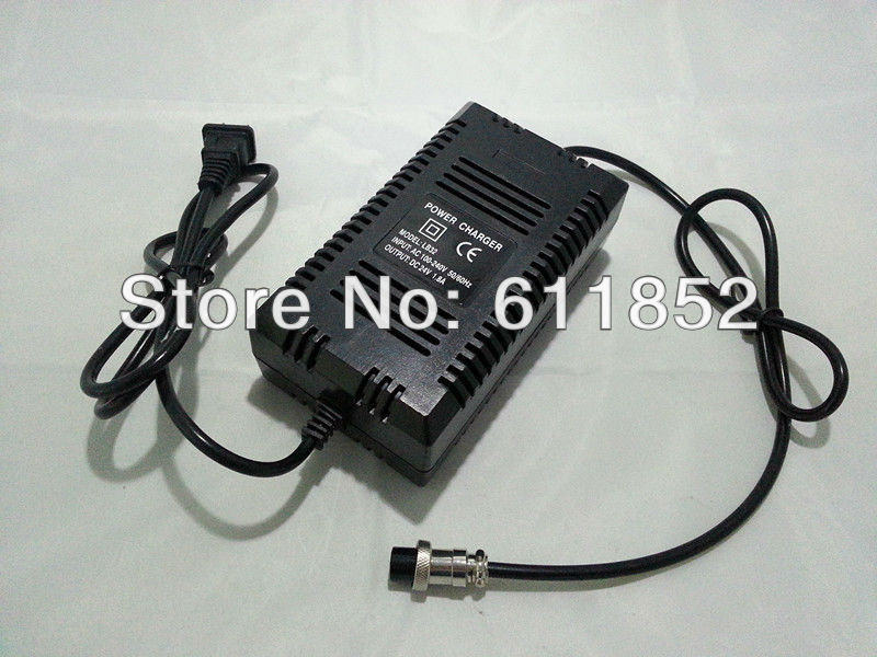 24V 1.8A Lead acid/gel battery charger for Electric scooter(China (Mainland))