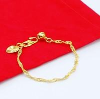 Wholesale new arrival 18K gold plated bracelet pendant baby peace bracelet free shipping a031