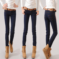 Free Shipping  Women low Waist Skinny Jeans Plus Full Sizes Best Quality Pencil pants Fast Delivery