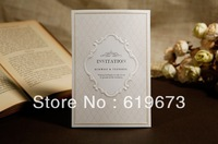 Vintage Baroque Style Wedding Invitation Card (Set of 200 Pcs)+printable and customizable+wholesale free shipping