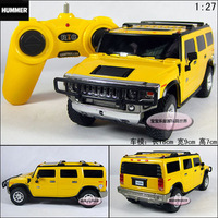 free shipping Xing Hui 1:27 H2 SUV remote control car model/ rc electric car for kids toys / children radio controller car gift