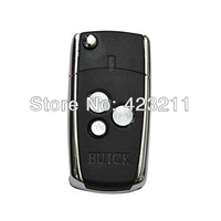 New Blank Flip Folding Remote Key Shell Case For III Buick Excelle HR-V  FT0076