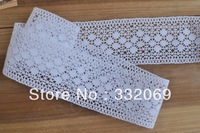 Laciness b720 diy accessories clothes handmade materials white dot cotton lace 5.5cm cottiers free shipping