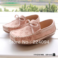 free shipping Fashion kid 2013 spring single shoes  children shoes  kid leather shoes kid leather shoes