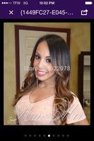 Human Hair!!! BEAUTIFUL COLOUR!! Top Quality!! 100% Cheaper Virgin human hair full lace wig