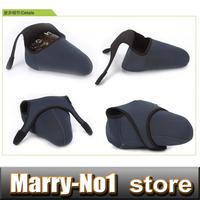 Neoprene Camera Cover Case Bag Pouch Protector for Nik&n D10 D40 D50  D60 D200 D300 D700 D3000 DSLR 18-55,18-135 24-105 Size -L