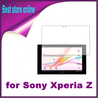 20 Pieces Free Shipping Clear Screen Protector Film Guard Skin Case Cover for Sony Xperia Tablet Z