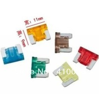 140pcs/lot mix order freedom to choose from 5A 7.5A 10A 15A 20A 25A 30A APS AMP micro mini Fuse Car Boat Truck Blade,TOYOTA