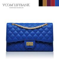 Women's handbag 2013 2.55 small plaid chain bag fashion vintage shoulder bag women's bags  High Quality