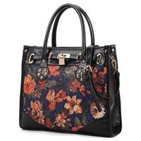 Men messenger bags,2013 print vintage briefcase shoulder bag handbag messenger bag women's handbag m05-091  High Quality Bag