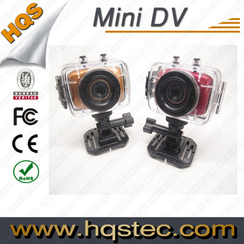 Hot sale sport waterproof camcorder with 3 meter waterproof
