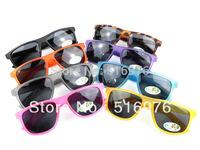 Free Shipping Hot Sale UV400 New Kids Eyeglasses Bcah Child SunGlasses 8 Colors 20pcs/lot KL160