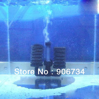 Hot Selling Hanging Type Aquarium Biochemical Sponge Filter With Fish Tank Air Pump Free Shipping