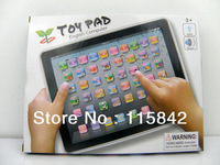 Free Shipping toy pad English Learning Machine,black toys pad,Educational,Music and Led Light,60PCS/Lot