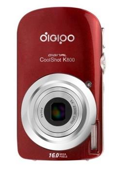 Freeshipping Telescopic lens 5x Optical Zoom 720P 16MP HD Digital Camera can shoot  Video pink red dark green Black