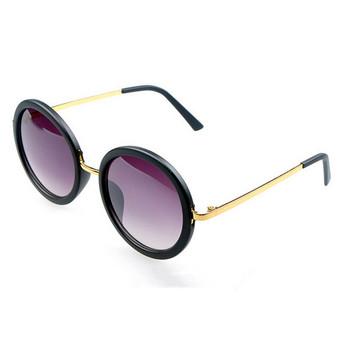 2014 new Vintage retro round frame sunglasses Four colors fashion brand designer women sun glasses Hot selling oculos de sol Q4