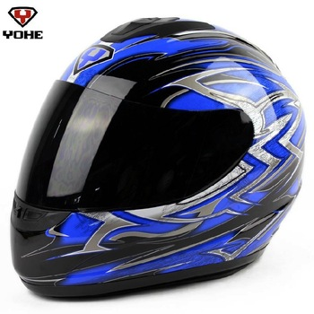 Hot sale 1 pcs/lot ECE,YOHE 993 motorcycle helmet/Germany high quality 709ABS full face helmet motorcross/off-road racing helmet