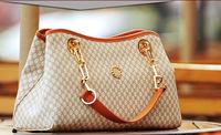 Free shipping TotesFashion handbag fashion women's PU chains uncovered shaping big bag female bag