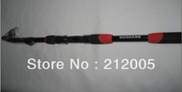 Free Shipping High Quality 5 segments GW 2.4m/2.7m /3.0m carbon spinning telescopic fishing rods fishing pole
