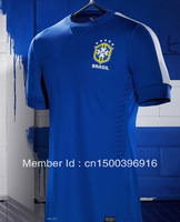 ^_^ NEW 13/14 seasons BRAZIL AWAY thailand A+++ quality palyer version thai top quality soccer jerseys free shipping shirts