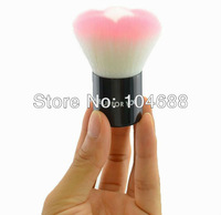 1 Pcs Pink MAKE-UP FOR YOU petals universal brush / blush brush / powder brush-- ME-6