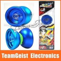 20pcs/lot Original ice crystal MAGIC YOYO BALL Professional Yo-Yo Aluminum Toy Gift 1A 3A 5A in Original Gift Box Free shipping