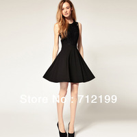 Women's clothing wholesale 2013 spring bud silk waist dress is han edition dress for spring/summer fashion brands