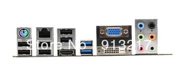 ZH77A-G43 Motherboard USB3.0 PCI-E3.0 LGA 1155 DDR3 Intel H77 desktop mainboard DHL EMS Free Shipping one year warranty