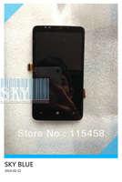 For HTC 7 Trophy T8686 LCD with touch assembly by free shipping
