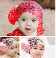 Free shipping 5pcs Infant flower headband Flower Headband Baby Girls Elastic Hairband Hair Accessories Headwear