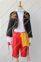 Free shipping Custom cheap Len Cosplay Costume (From the Sandplay Singing of the Dragon) from Vocaloid Anime clothing Halloween