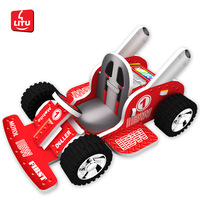 LITU 3D PUZZLE/JIGSAW PUZZLE/TOYS/PLAYING_cars_pull back karting 10 designs/lot   Style No.3312