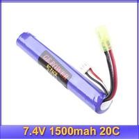 GE Power RC battery 7.4V 1500mah 20C 2 CELL lipo Akku RC PACK model MAX 40C+free shipping